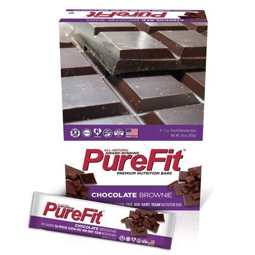 chocolate brownie bars Purefit Nutrition info