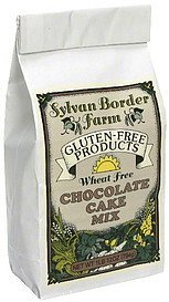 chocolate cake mix wheat free Sylvan Border Farm Nutrition info