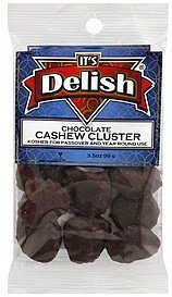 chocolate cashew cluster Its Delish Nutrition info