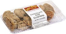 chocolate chip clusters Corey Bros. Bakery Nutrition info