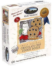 chocolate chip cookie dough truly natural Wholly Wholesome Nutrition info