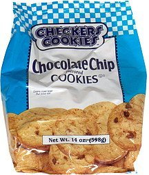 chocolate chip flavored cookies chocolate chip, flavored cookies Checkers Cookies Nutrition info