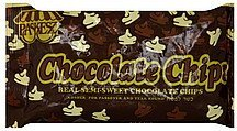 chocolate chips real semi-sweet Paskesz Nutrition info