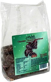 chocolate covered gingerbread Schokogeback Nutrition info