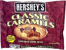 chocolate creme filled Classic Caramels Nutrition info