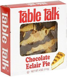 chocolate eclair pie Table Talk Nutrition info