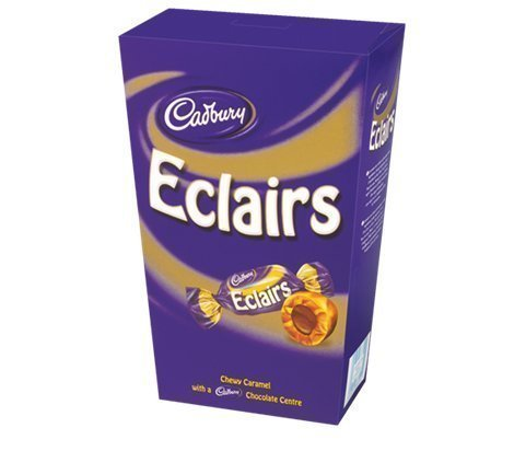 chocolate eclairs Cadbury Nutrition info