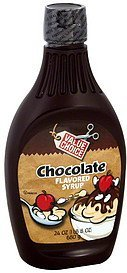 chocolate flavored syrup Value Choice Nutrition info