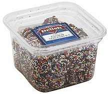 chocolate non pareils rainbow Its Delish Nutrition info