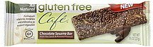 chocolate sesame bar Gluten Free Cafe Nutrition info