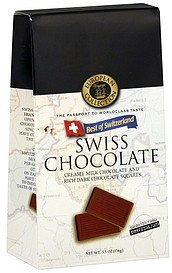 chocolate swiss, best of switzerland European Voyage Collection Nutrition info
