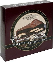 chocolate thunder white lightning The Famous Pacific Dessert Company Nutrition info