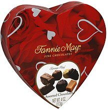 chocolates assorted Fannie May Nutrition info