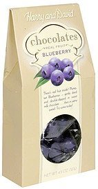 chocolates blueberry Harry and David Nutrition info