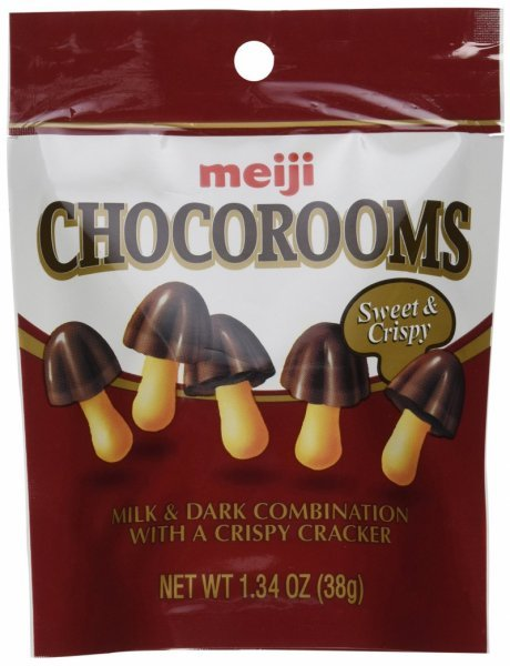 chocorooms Meiji Nutrition info