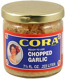 chopped garlic Cora Nutrition info