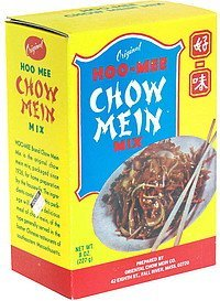 chow mein mix Hoo-Mee Nutrition info