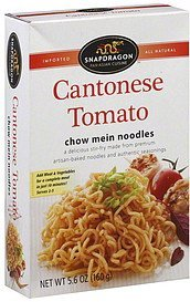 chow mein noodles cantonese tomato Snapdragon Nutrition info