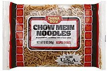 chow mein noodles China Boy Nutrition info