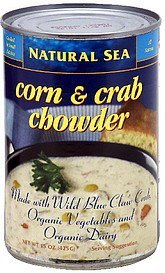 chowder corn & crab Natural Sea Nutrition info