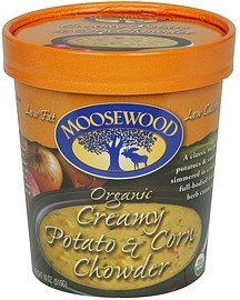 chowder organic creamy potato & corn Moosewood Nutrition info