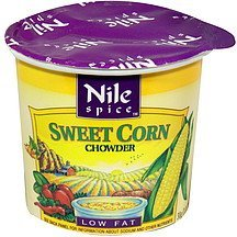 chowder sweet corn Nile Spice Nutrition info