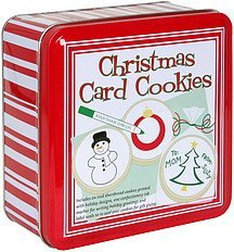 christmas card cookies Byrd Cookie Company Nutrition info