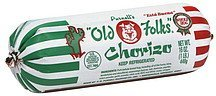 churizo Old Folks Nutrition info