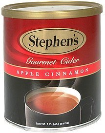 cider gourmet, apple cinnamon Stephens Nutrition info