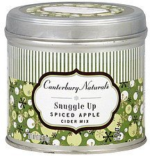 cider mix spiced apple, snuggle up Canterbury Naturals Nutrition info
