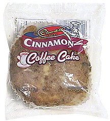 cinnamon coffee cake Cloverhill Bakery Nutrition info