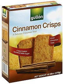 cinnamon crisps Gullon Nutrition info