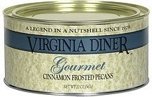 cinnamon frosted pecans gourmet Virginia Diner Nutrition info
