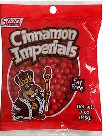 cinnamon imperials Shari Candies Nutrition info