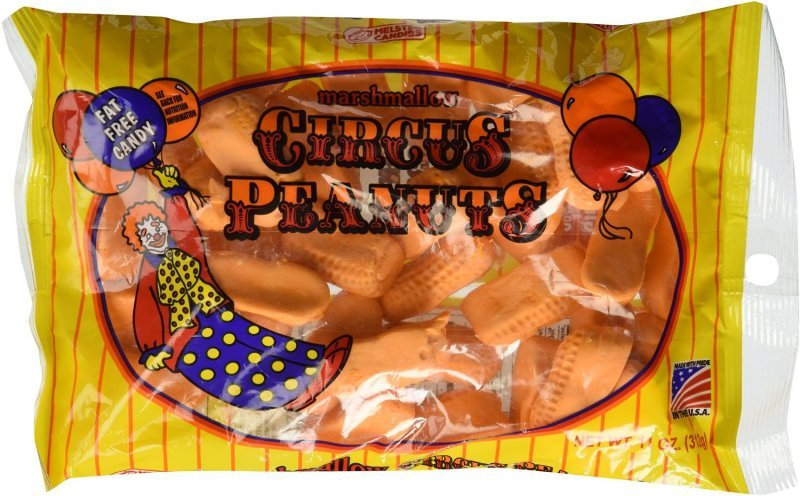 circus peanuts marshmallow Melster Nutrition info