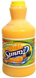 citrus punch orange fused pineapple Sunny D Nutrition info