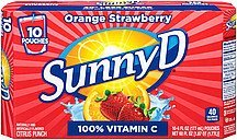 citrus punch orange strawberry Sunny D Nutrition info