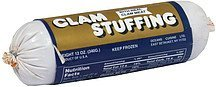 clam stuffing with real clam meat Oceans Cuisine Nutrition info