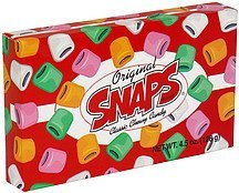classic chewy candy original Snaps Nutrition info