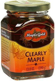 clearly maple Maple Gold Nutrition info