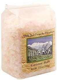 coarse salt Himalania Nutrition info