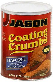 coating crumbs flavored Jason Nutrition info