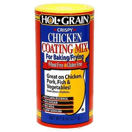 coating mix crispy chicken Hol-Grain Nutrition info