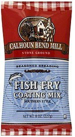 coating mix fish fry Calhoun Bend Mill Nutrition info