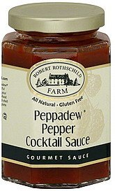cocktail sauce peppadew pepper Robert Rothschild Farm Nutrition info