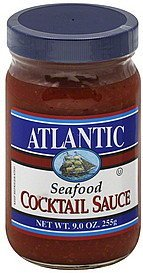 cocktail sauce seafood Atlantic Nutrition info
