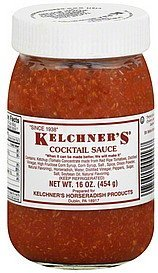cocktail sauce Kelchners Nutrition info