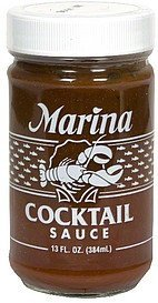 cocktail sauce Marina Nutrition info