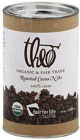 cocoa nibs roasted Theo Nutrition info