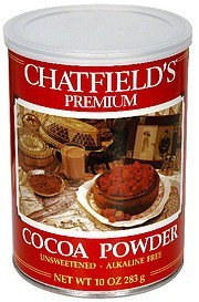 cocoa powder unsweetened Chatfields Nutrition info